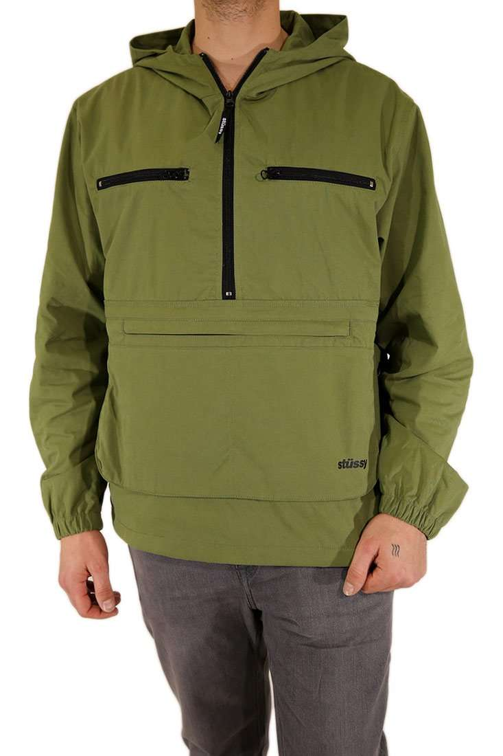 Stussy Windbreaker Big Pocket Anorak