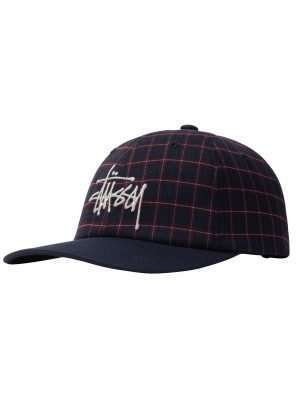 Stussy Plaid 2-Tone Low Pro Cap