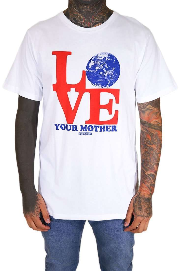 Dedicated T Shirt Stockholm Love Mother