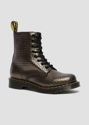 Dr. Martens 1460 Pascal Studded Emboss Leather