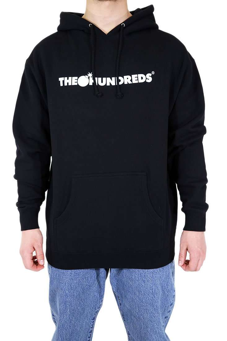 The Hundreds Hooded Sweater Bar Logo Hoodie