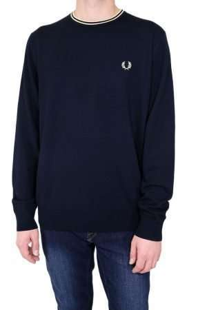 Fred Perry K9601 Classic Crew Neck Jumper