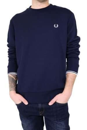 Fred Perry M7535 Crew Neck Sweater