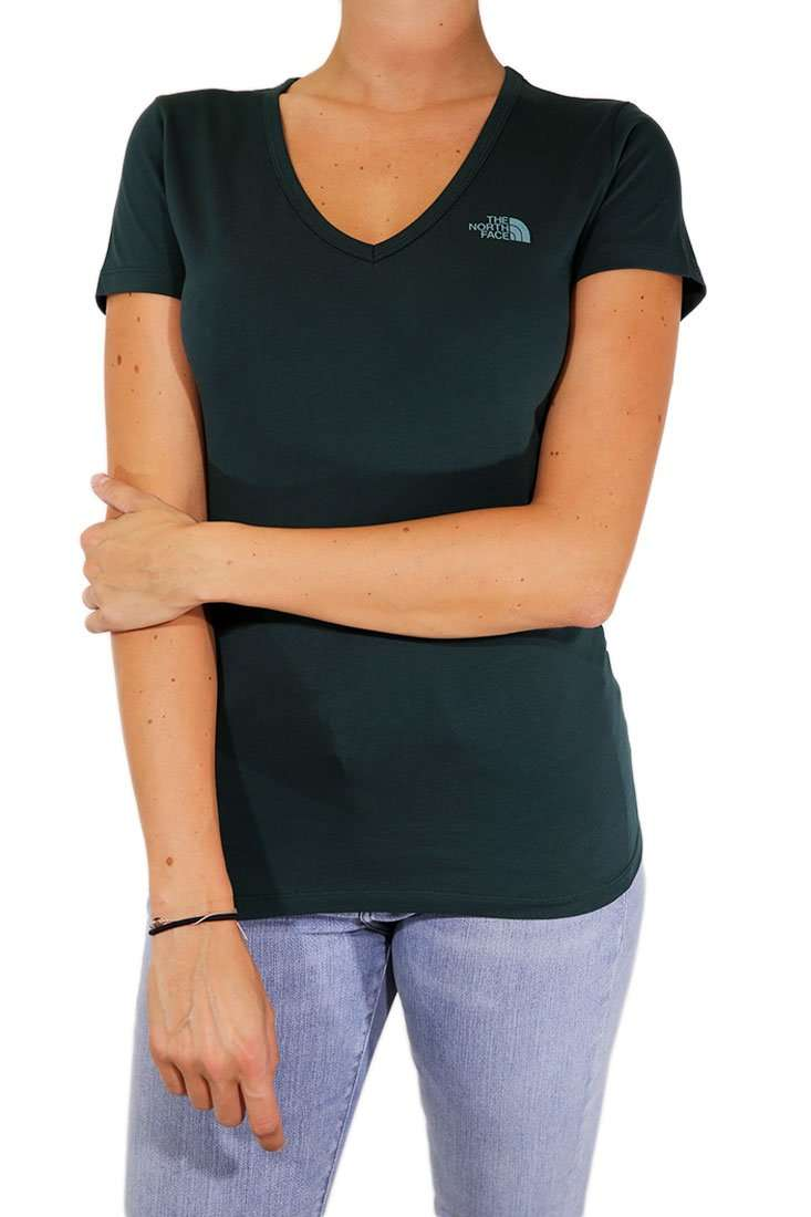 The North Face Damen T Shirt Simple Dome V-Neck