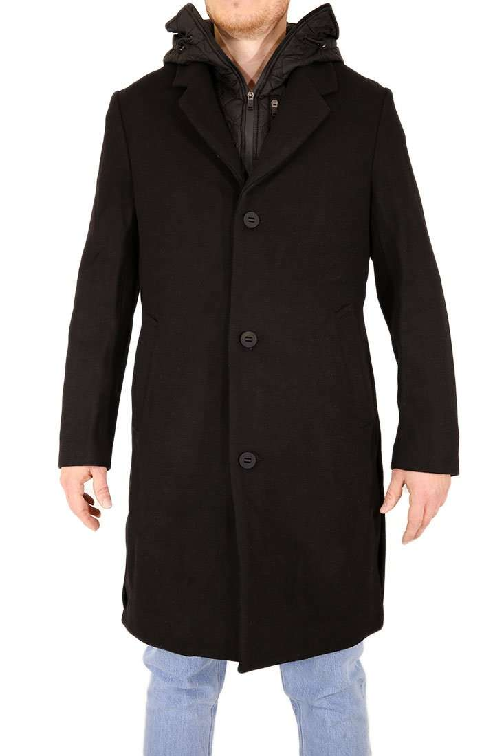 Krakatau Winterjacke Wool Coat