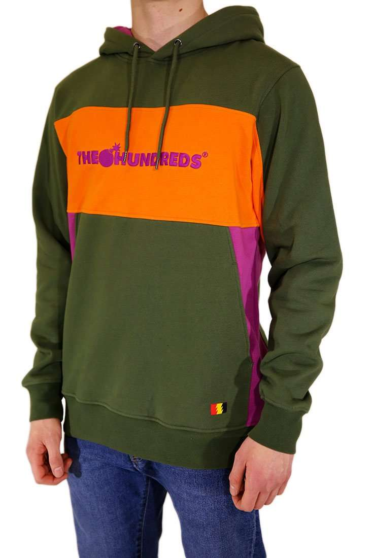 The Hundreds Hooded Sweater Blaze Hood
