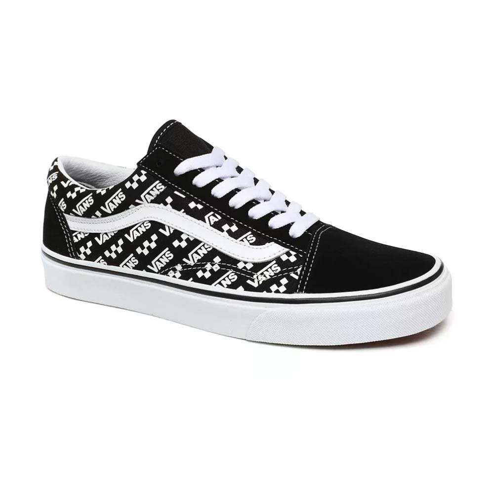Vans Damen Classic Sneaker Old Skool Logo Repeat